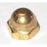 Brass Dome Nuts India Jamnagar Brass Acorn Nuts india