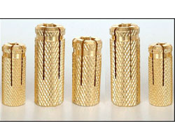 Brass Anchor fasteners Brass Expansion fasteners