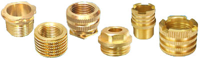 BRASS THREADED INSERTS