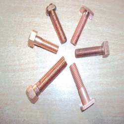 Copper bolts nuts Copper bolts hex bolts
